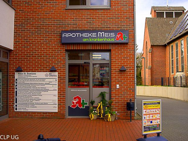 73aaf3fecadca5 Die Apotheke Meis am Krankenhaus in Cloppenburg liegt im Herzen von  Cloppenburg direkt neben dem Krankenhaus St. Josefs-Hospital im Ärztehaus  St. Damiano.